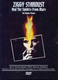 Cover David Bowie - Ziggy Stardust And The Spiders From Mars - The Motion Picture [DVD]